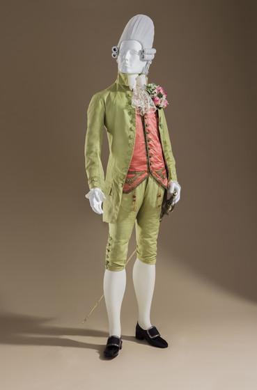 1770s macaroni suit LACMA