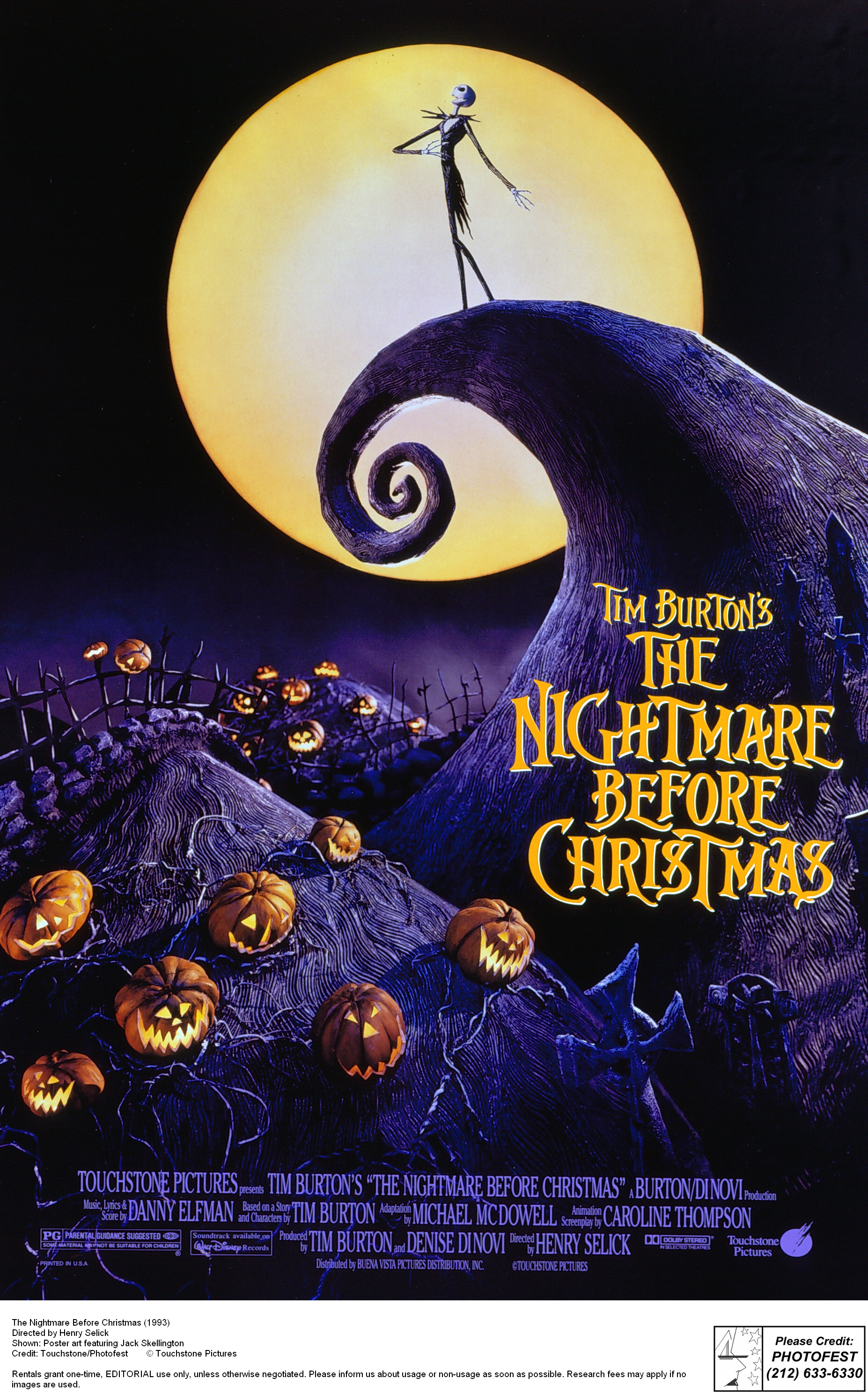 nightmare before christmas halloween party decorations