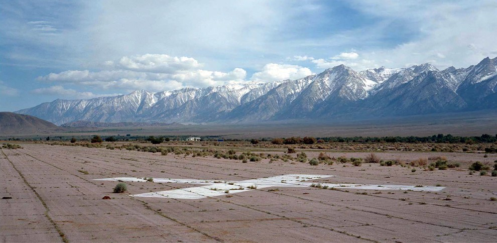Andrew Freeman Abandoned runway, Manzanar Airport (from the X; N36°44.585', W118°08.763')