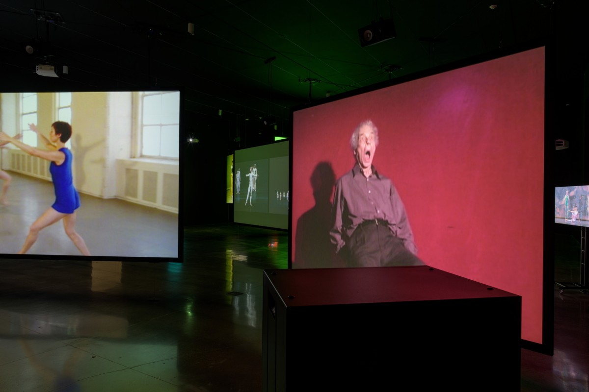 Merce Cunningham, Clouds and Screens Exhibition Image
