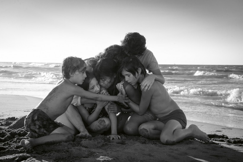 ROMA (2018), by writer, director, and cinematographer Alfonso Cuarón