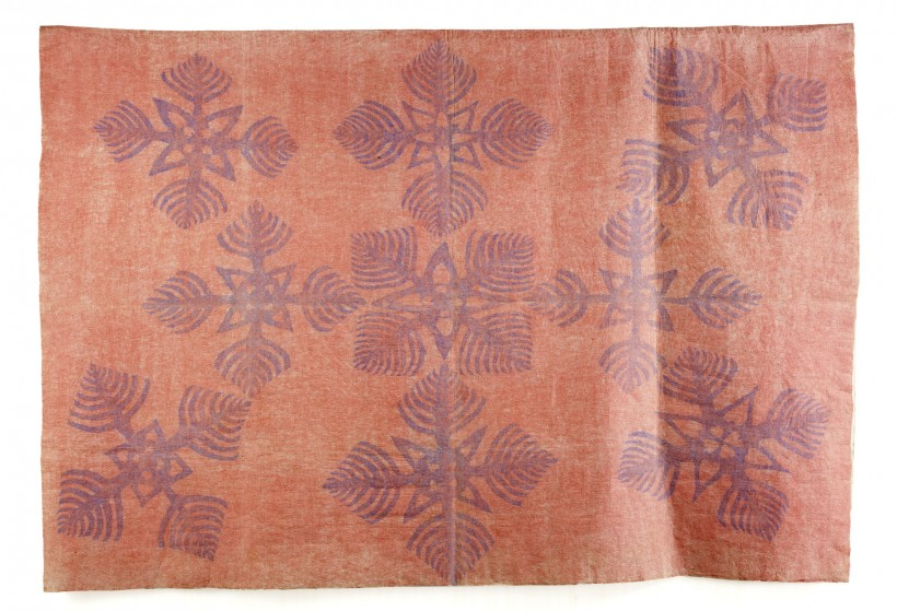 Barkcloth (Kapa moe), Hawaiian Islands, late 19th century
