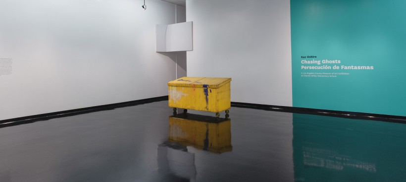 Installation Photograph: Kaz Oshiro: Chasing Ghosts, Los Angeles County Museum of Art