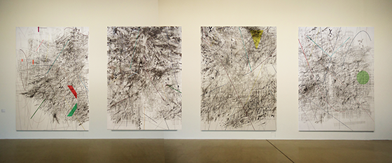 Mogamma  (A Painting in Four Parts), 2012