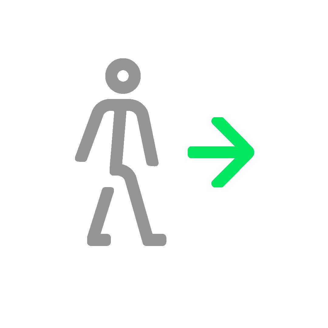 Follow One Way Pathways