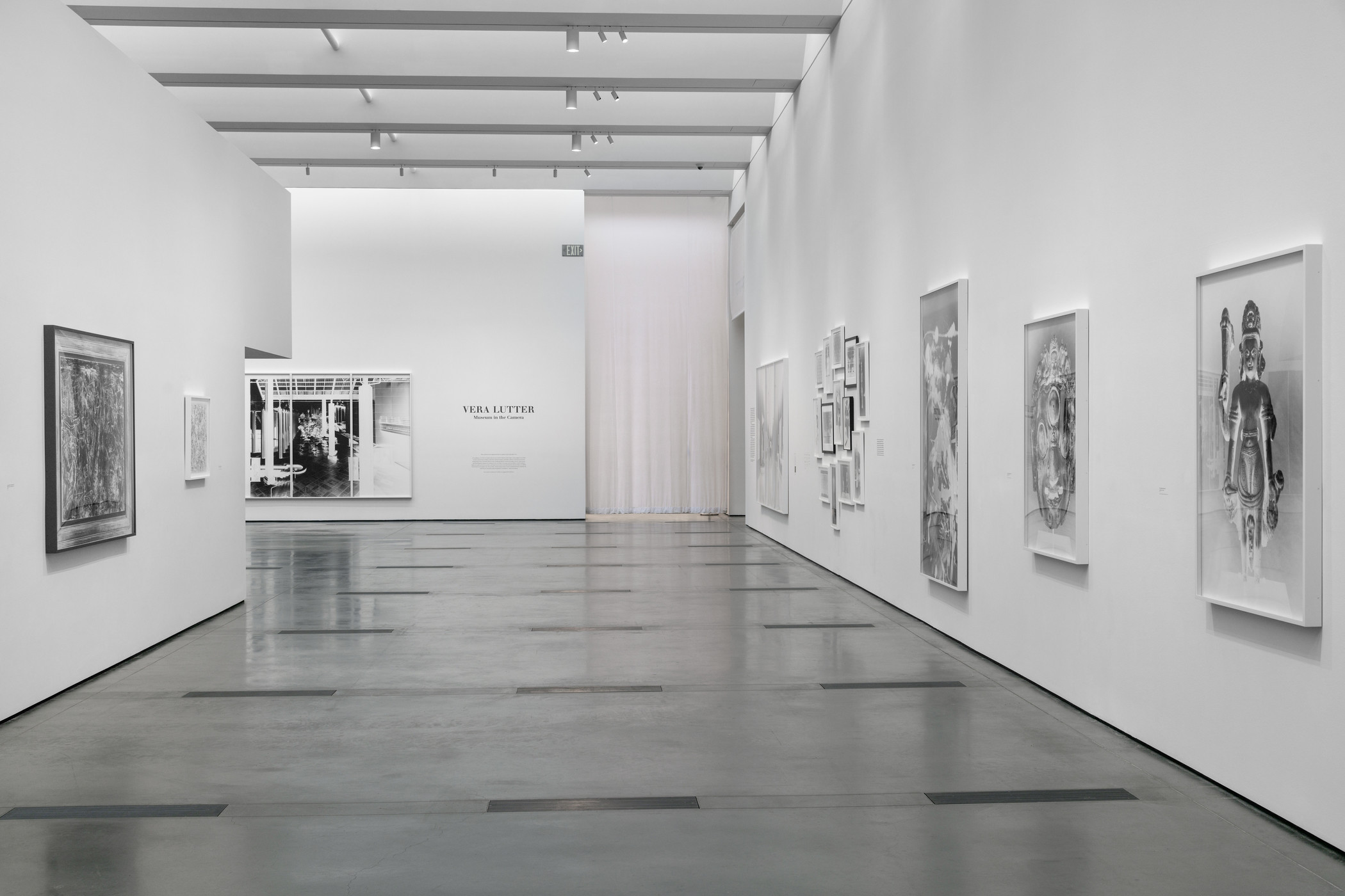 Vera Lutter: Museum in the Camera, Los Angeles County Museum of Art, 2020, art © Vera Lutter, photo © Museum Associates/LACMA