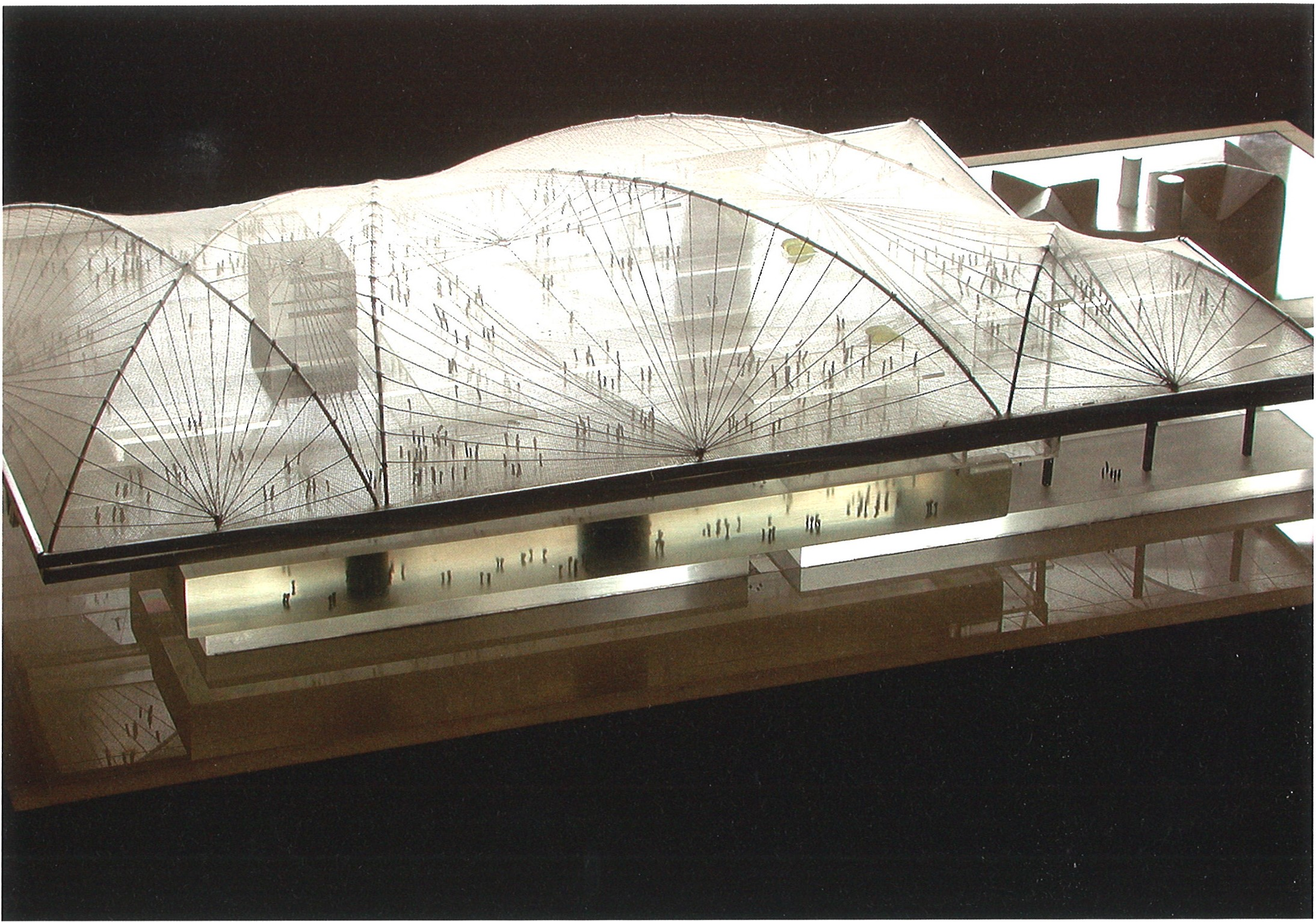 Competition model, LACMA, 2001