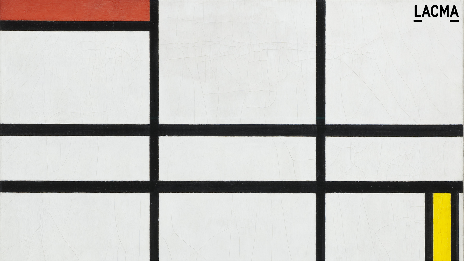 Composition in White, Red, and Yellow by Piet Mondrian (Holland, 1872-1944)