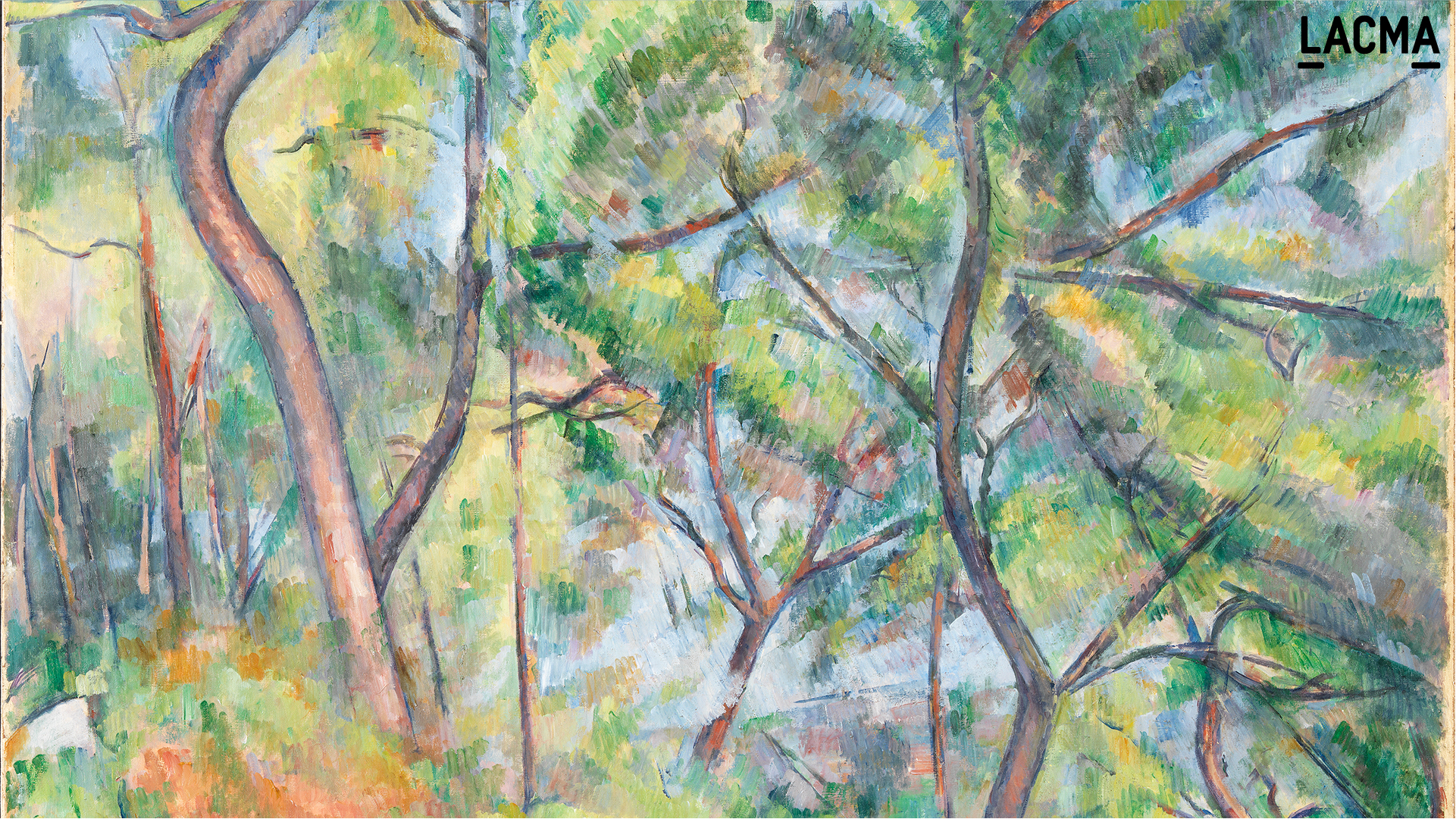 Sous-Bois by Paul Cézanne (France, Aix, 1839-1906)