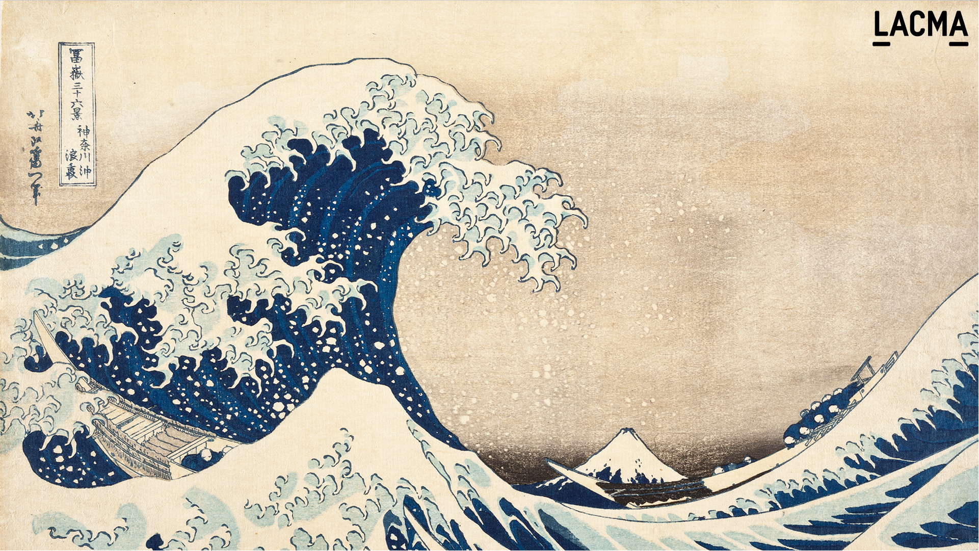 The Great Wave off Kanagawa by Katsushika Hokusai (Japan, 1760-1849)