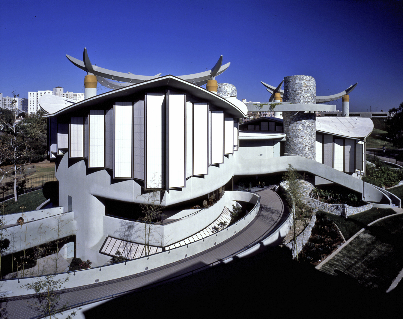 Pavilion for Japanese Art, completed 1988