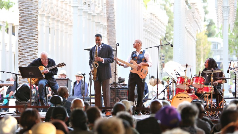 Image: Jazz at LACMA