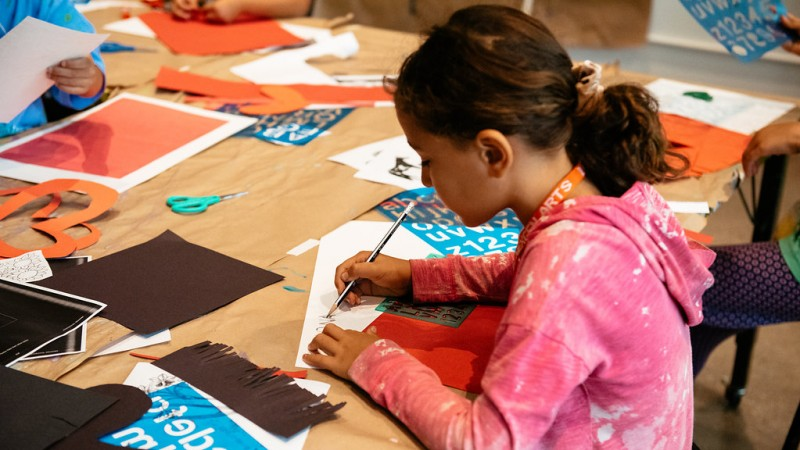 Summer Art Camp, July 20, 2018, photo © Museum Associates/LACMA, by Mercedes Anne Ghimire
