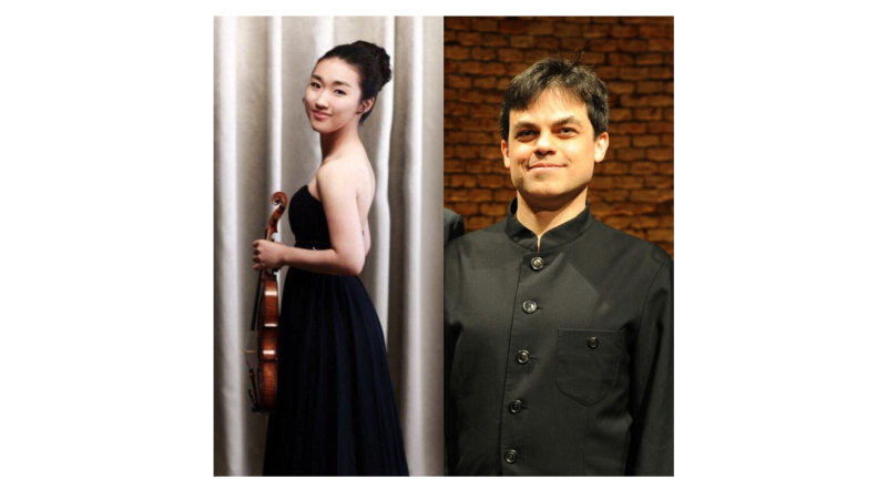 violinist Wonny Bae and pianist Peter Wittenberg