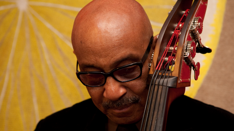 John B Williams playing the bass