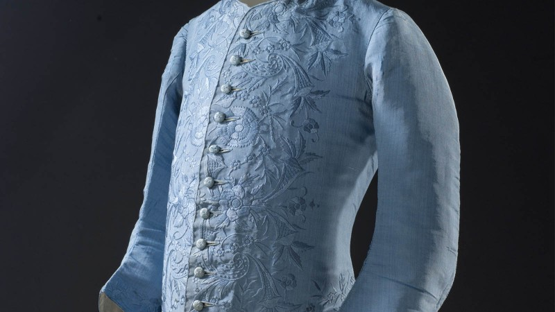 Image: Man's Waistcoat, China for the Western market, c. 1740