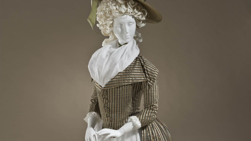 Woman's Dress (Redingote), circa 1790