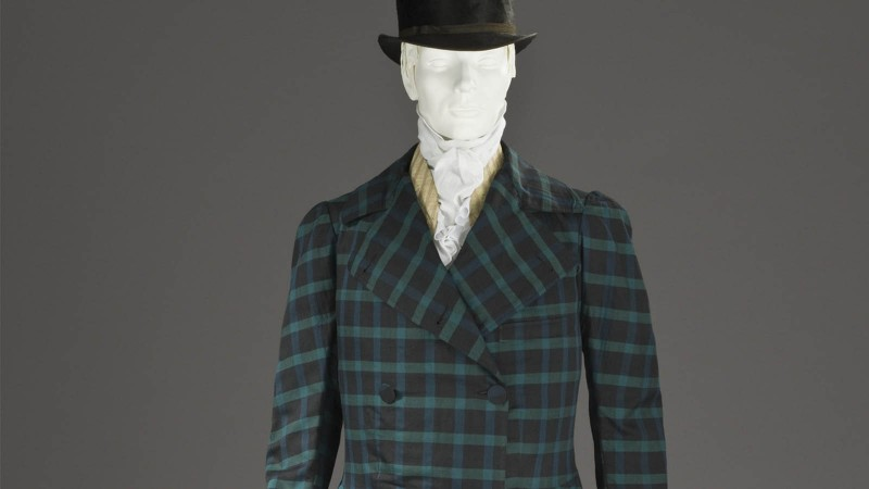 Man's Frock Coat, France, circa 1820, Los Angeles County Museum of Art
