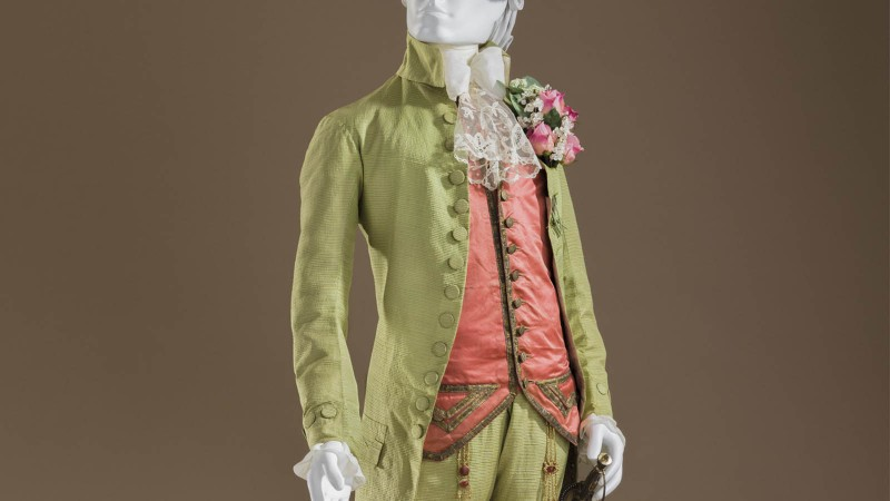 Man's Coat, circa 1770, Los Angeles County Museum of Art