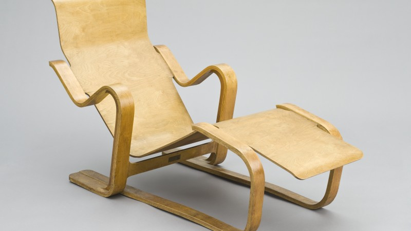 Image: Marcel Lajos Breuer, Isokon Furniture Co. Ltd., Long Chair, designed 1935-1936