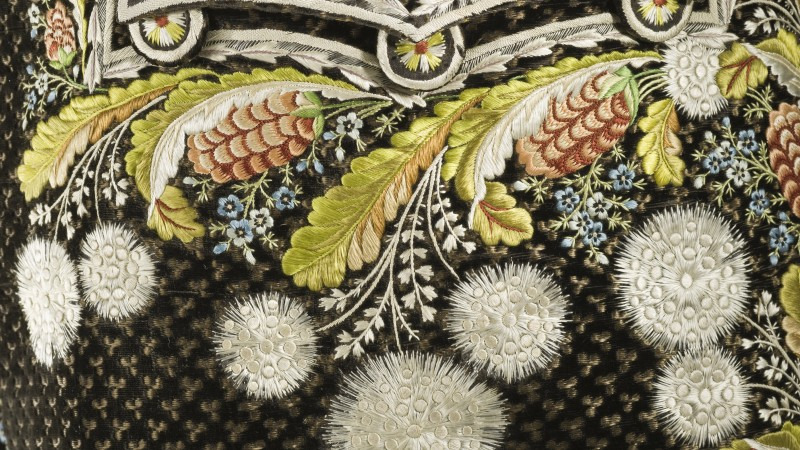Image: Man's Suit (detail), Europe, circa 1800