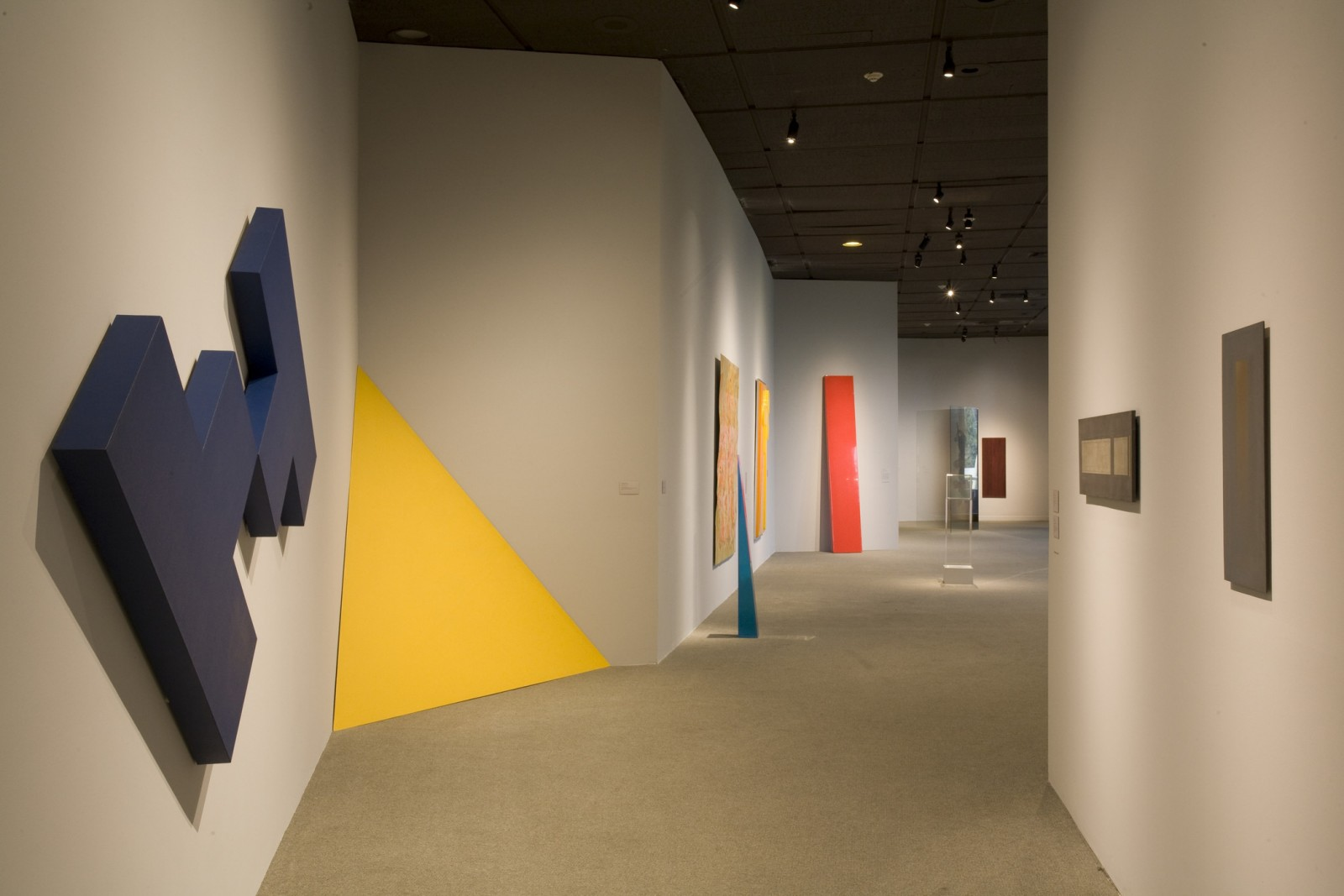 Image: Installation View of SoCal: Southern California Art of the 1960s and 70s from LACMA's Collection
