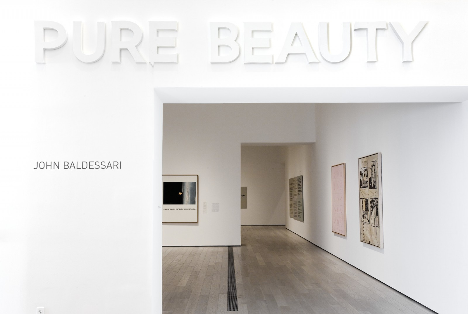 Installation photograph, John Baldessari: Pure Beauty, Los Angeles County Museum of Art, June 27 - September 12, 2010