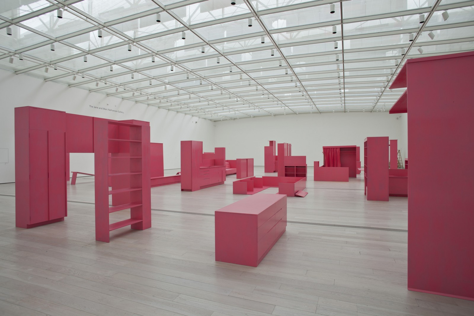 Image: Stephen Prina, As He Remembered It, installation views, Los Angeles County Museum of Art, 2013