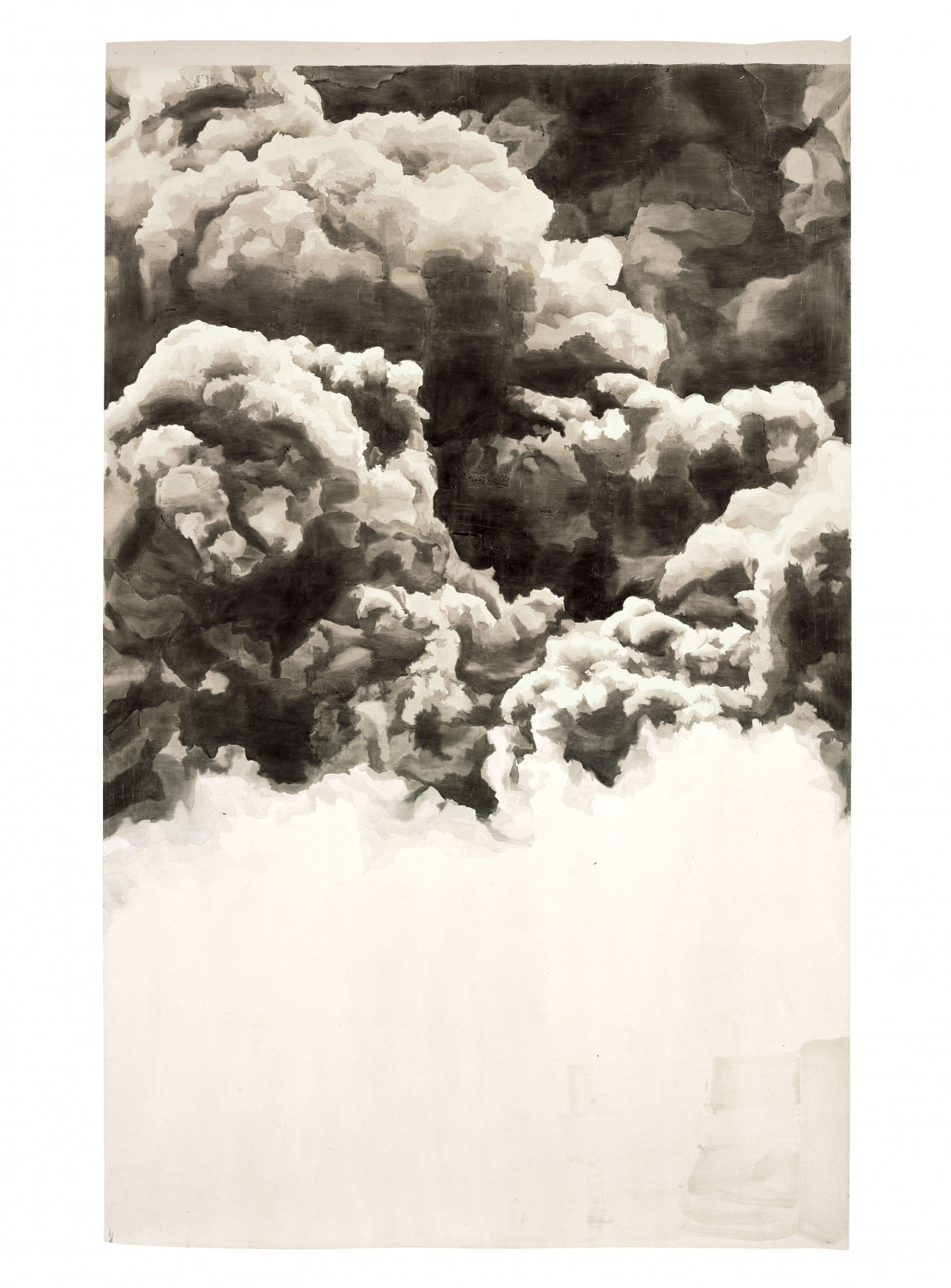 Image: Toba Khedoori, Untitled (clouds), 2005
