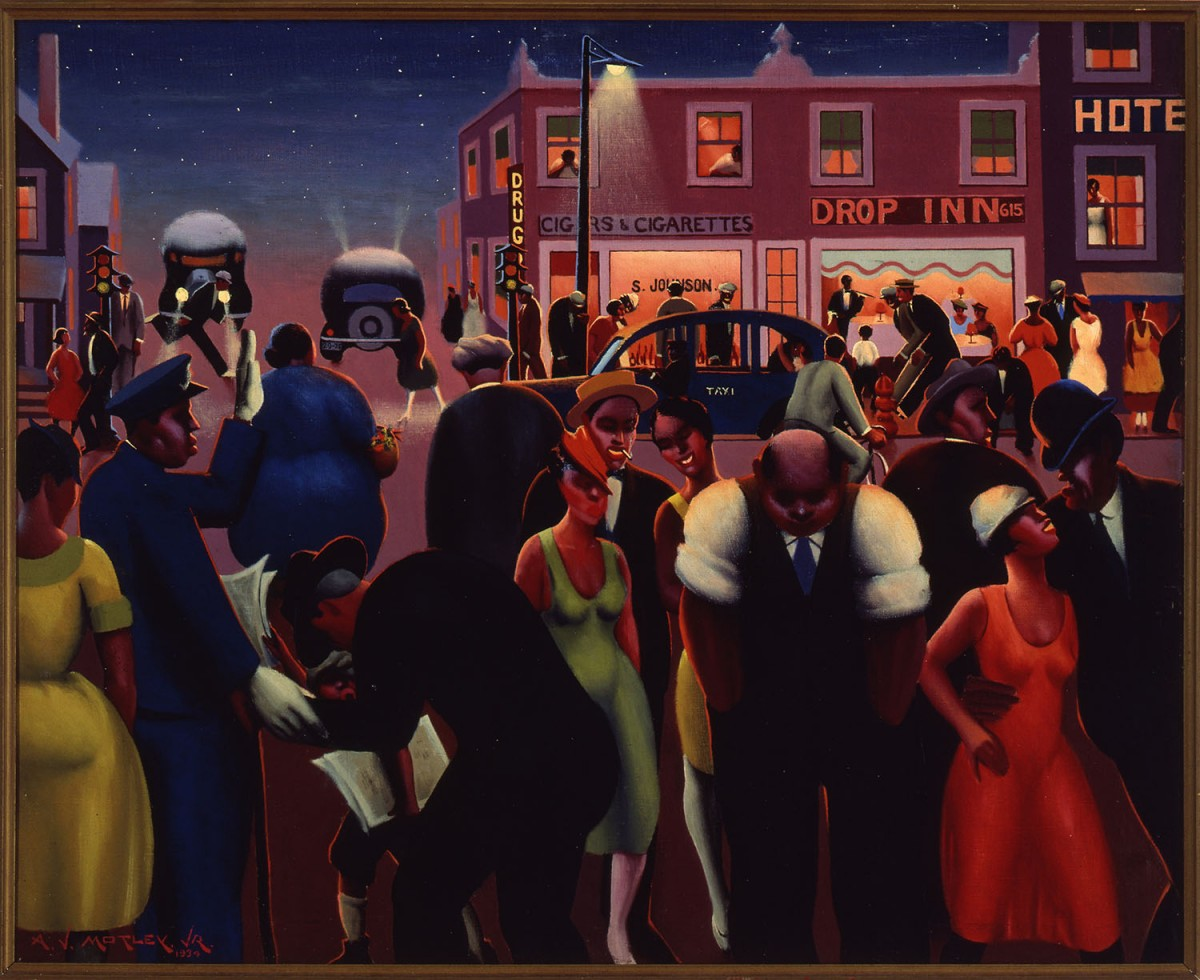 Image: Archibald J. Motley Jr., Black Belt, 1934