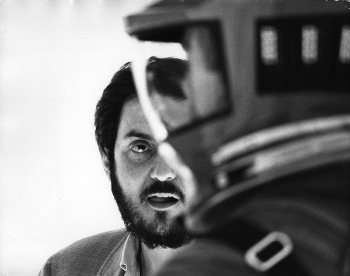 Image: 2001 Space Odyssey, directed by Stanley Kubrick, Stanley Kubrick on set during the filming.