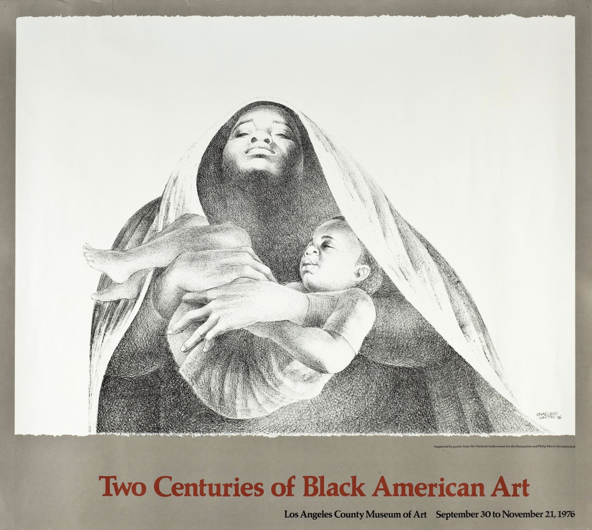 Exhibition Poster: Two Centuries of Black American Art