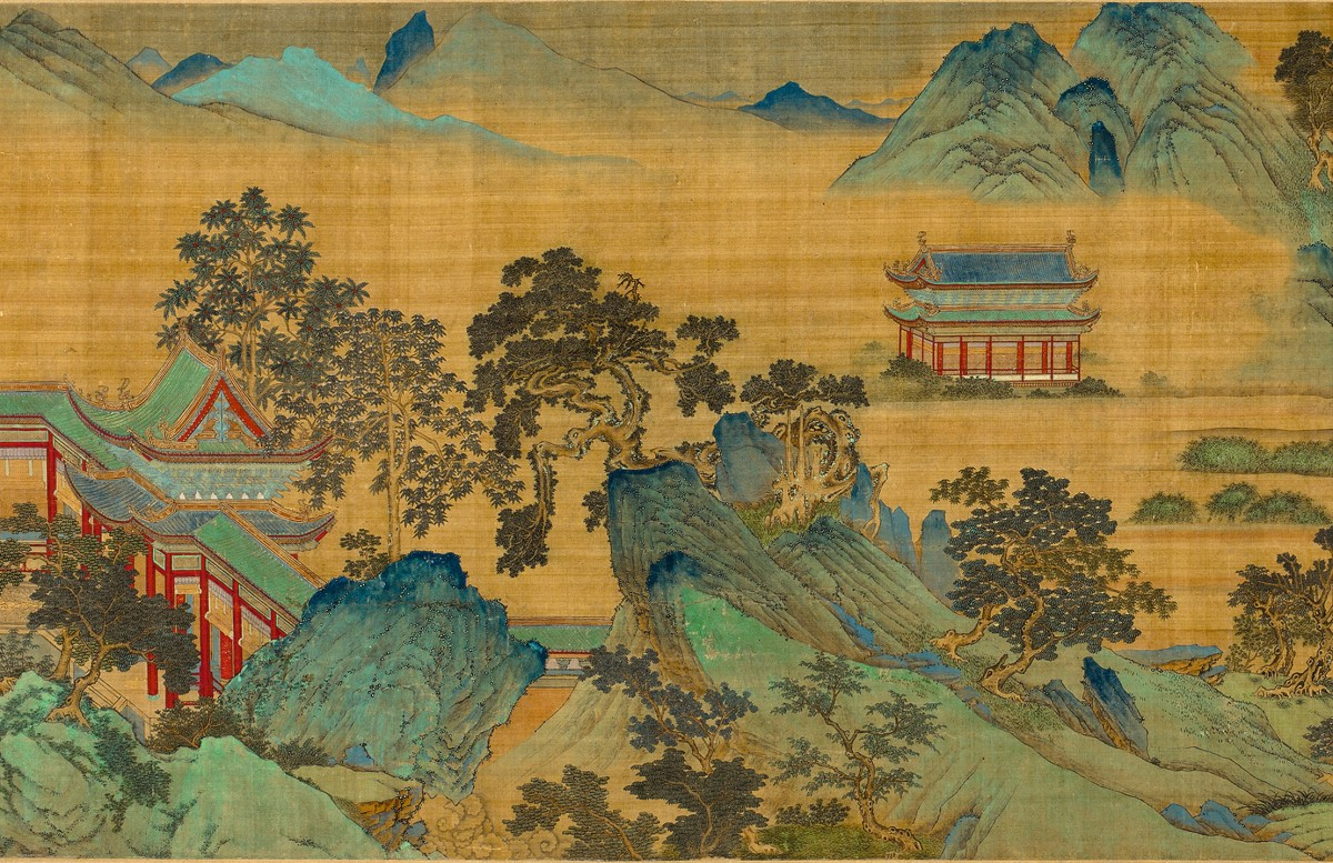 Image: Qiu Ying (c. 1494–c. 1552), The Jiucheng Palace (detail)