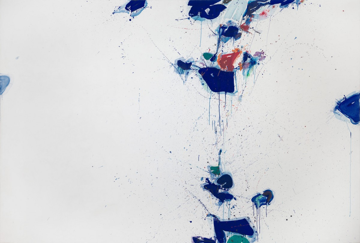 Image: Sam Francis, Towards Disappearance, 1957