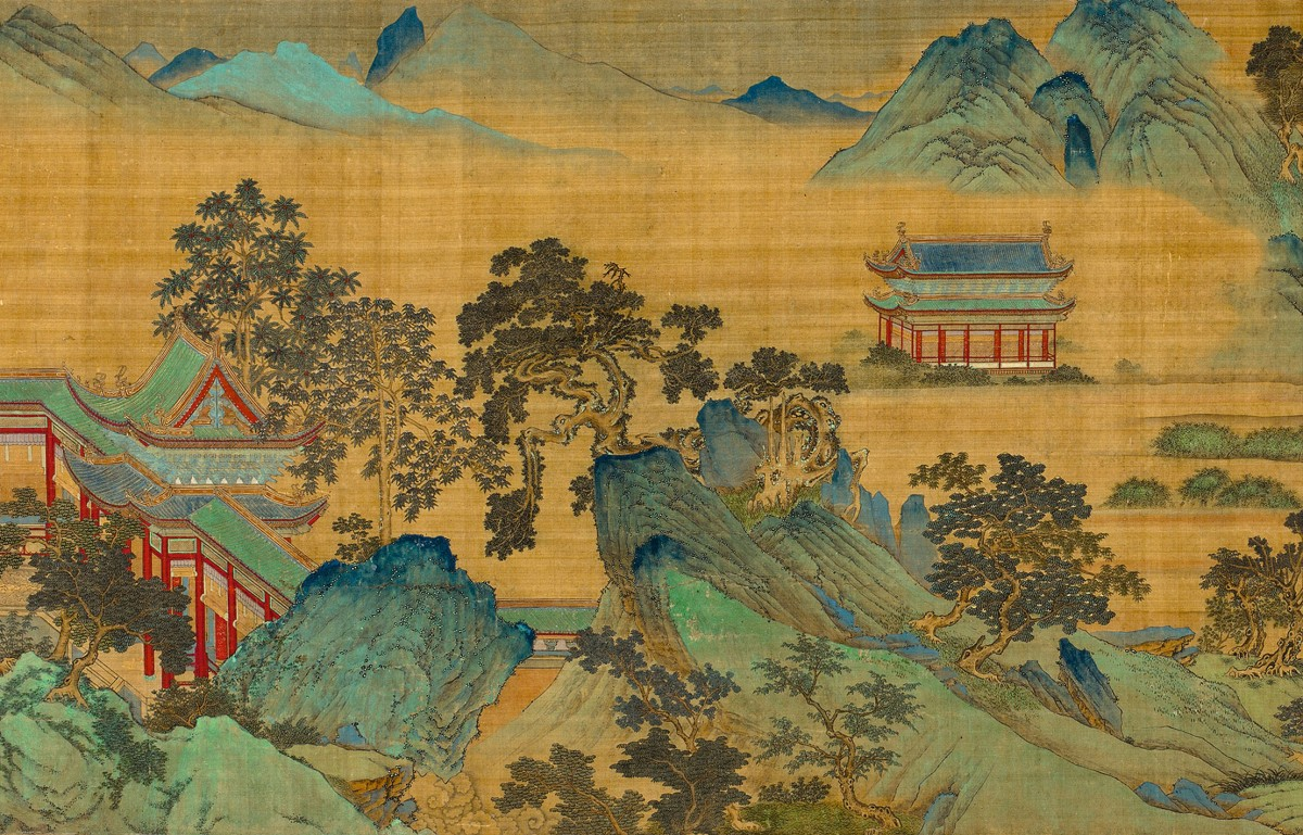 Image: Qiu Ying (c. 1494–c. 1552), The Jiucheng Palace (detail)