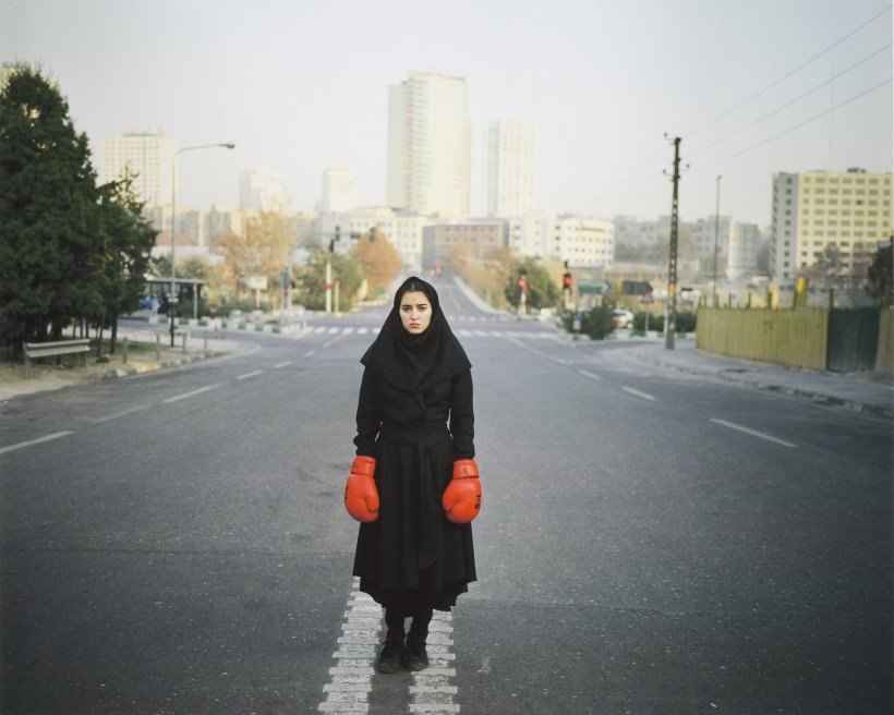 Image: Newsha Tavakolian, Untitled, from the series Listen, 2011