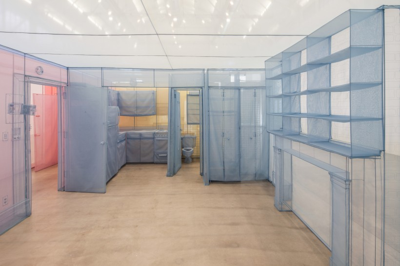 Image: Do Ho Suh, Apartment A, Unit 2, Corridor and Staircase, 348 West 22nd Street, New York, NY 10011, USA (detail), 2011-2014