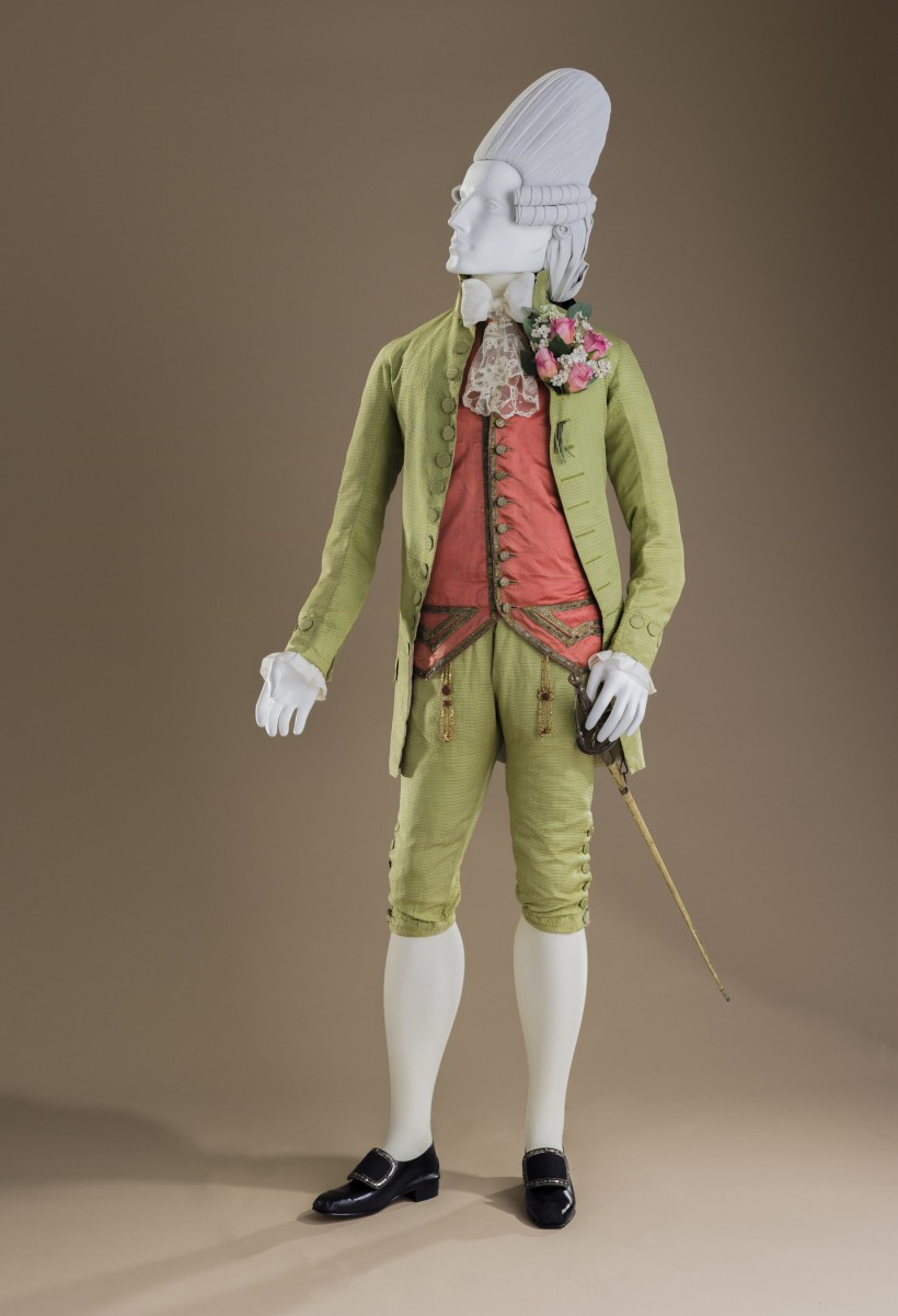 Image: Macaroni Ensemble: Suit, c. 1770