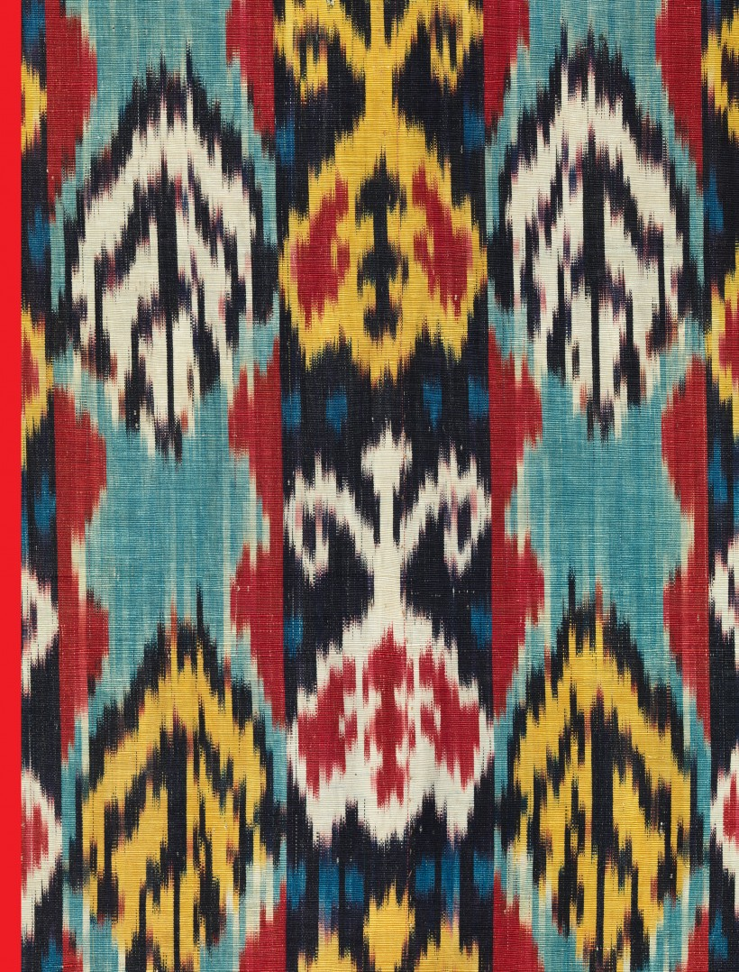 Publication Cover: The Power of Pattern: Central Asian Ikats from the David and Elizabeth Reisbord Collection