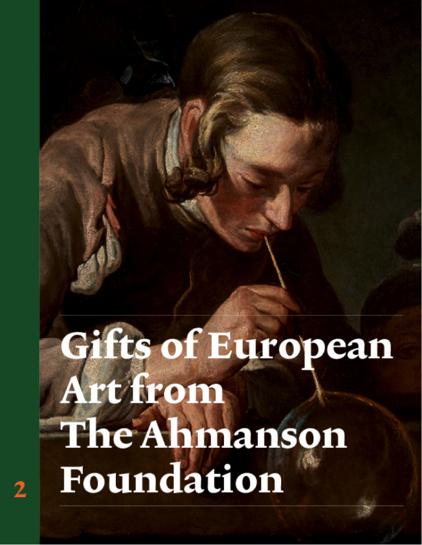 Publication Cover: Gifts of European Art from the Ahmanson Foundation: French Painting and Sculpture, Vol. 2