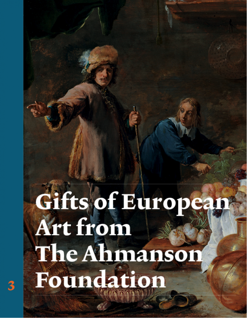 Publication Cover: Gifts of European Art from the Ahmanson Foundation: Dutch Painting, Flemish Painting, and Spanish Painting and Sculpture, Vol. 3