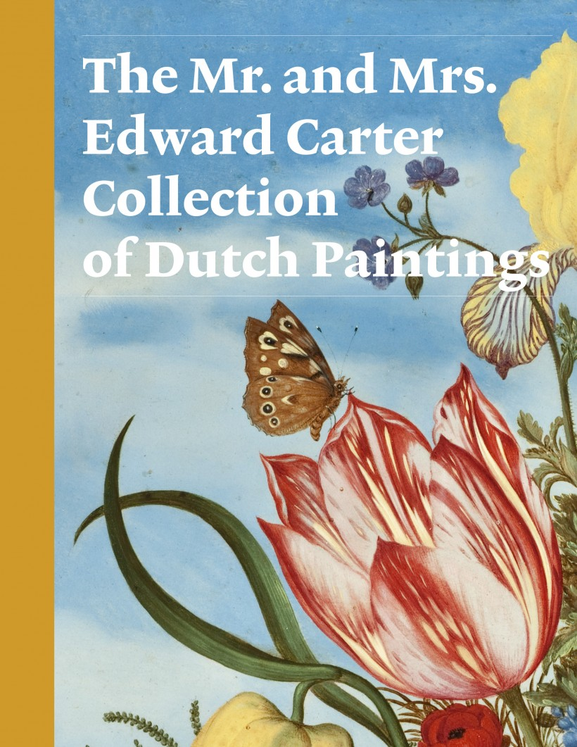 The Mr. and Mrs. Edward Carter Collection of Dutch Paintings Catalogue Cover