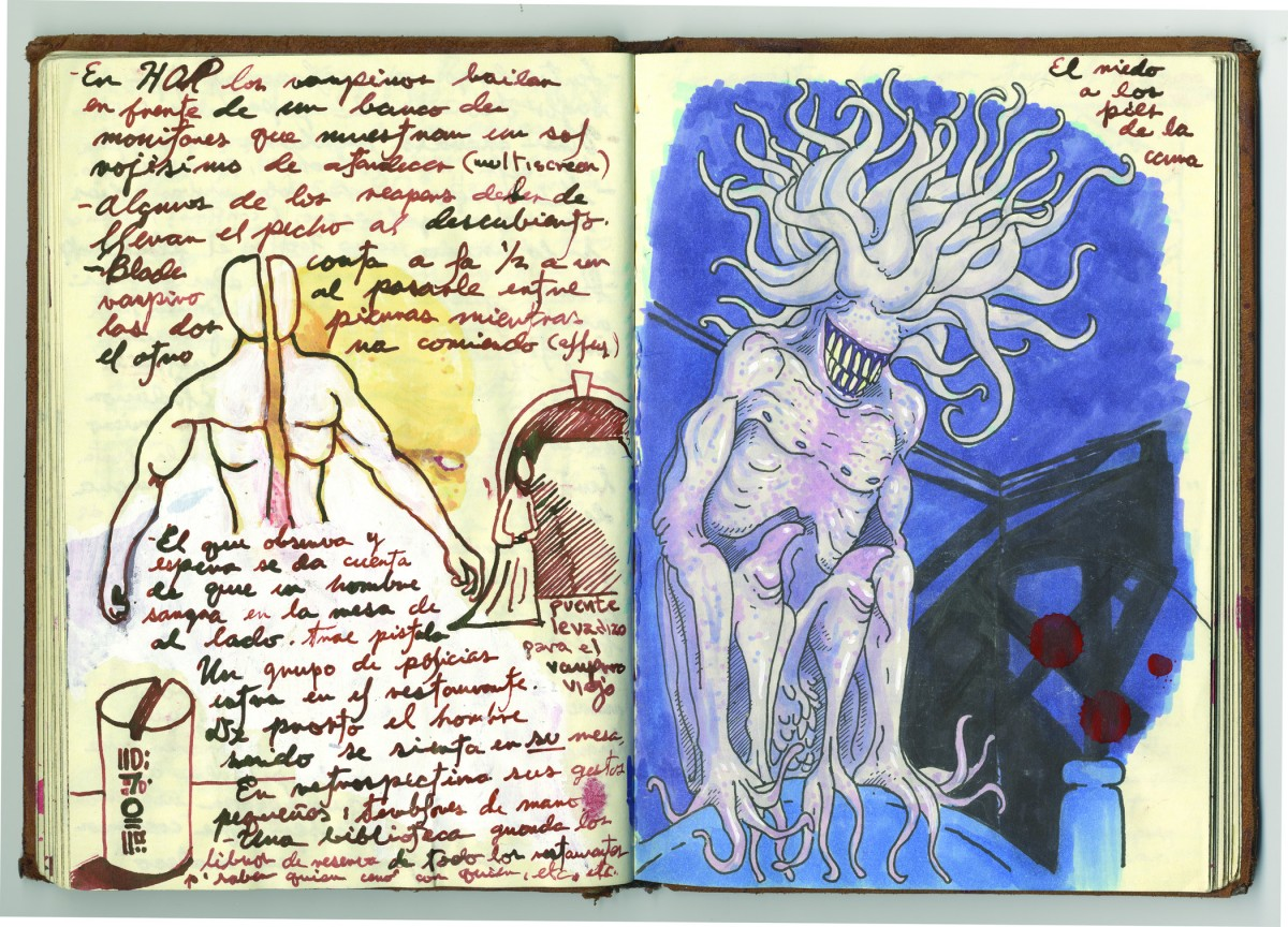 Guillermo del Toro, Page from Notebook 3
