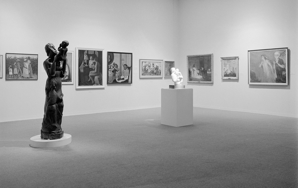 Installation Photo: Two Centuries of Black American Art: 1750-1955
