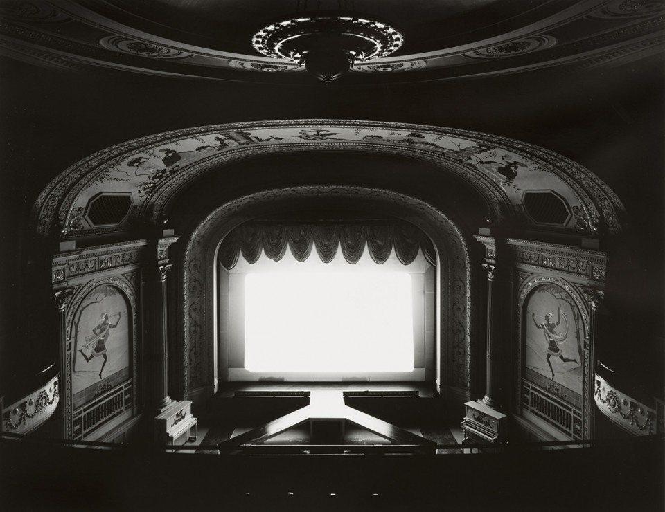 From the collection: Hiroshi Sugimoto, The Cabot Street Cinema, Mass, 1978.