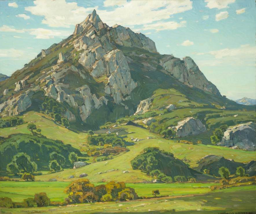Image: Where Nature's God Hath Wrought William Wendt
