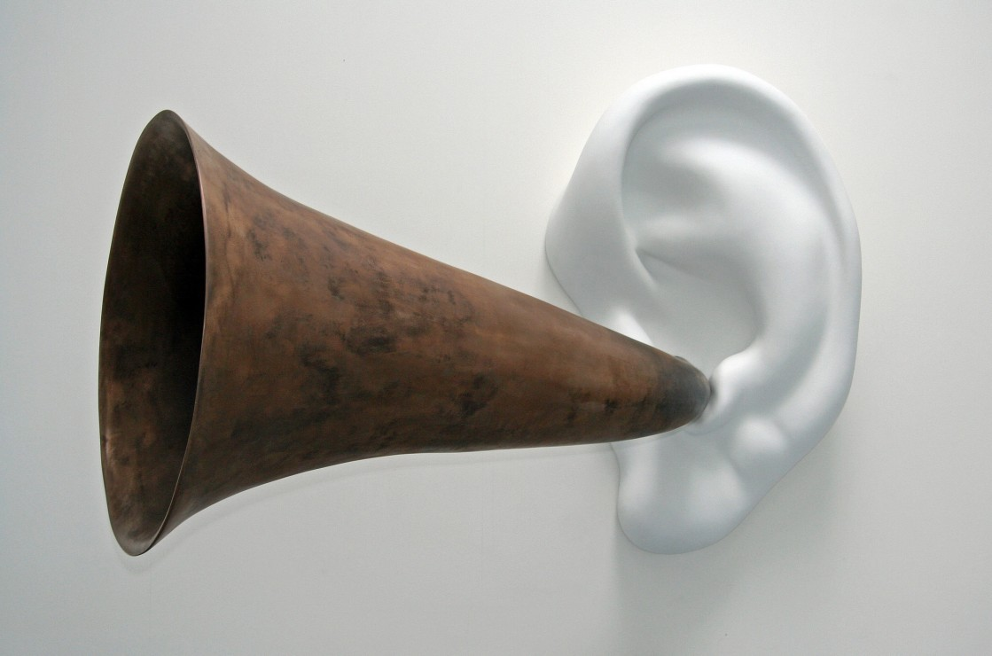 Browse: John Baldessari, Beethoven's Trumpet (With Ear) Opus #131, 2007