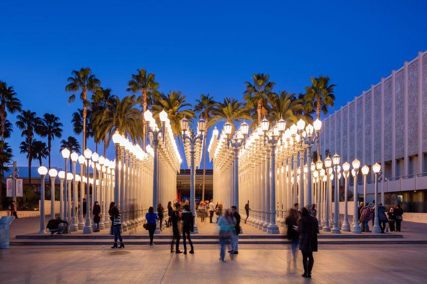 Lacma Museum - Urban Lights